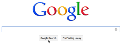 Google Search Button 400px