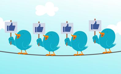 Twitter birds facebook likes 395px blog